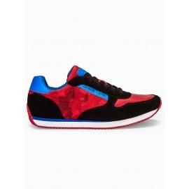 """Raudoni kamufliažiniai vyriški laisvalaikio batai """"Tuko"""""""