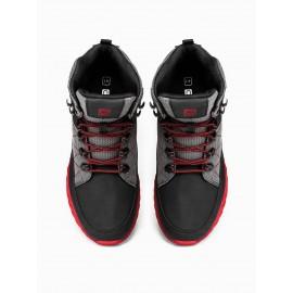 """Juodi su raudonu batai vyrams """"Porvs"""""""