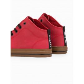 """Raudoni laisvalaikio batai """"Meni"""""""