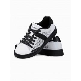 """Balti vyriški laisvalaikio batai juodu padu """"Soor"""""""