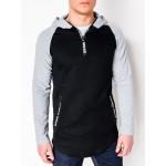 """Juodas vyriškas džemperis su kapišonu """"Wear"""""""