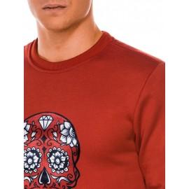 """Raudonos vyriškas stilingas džemperis """"Bordi"""""""
