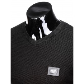"""Juodas vyriškas megztinis """"Onre"""""""