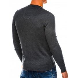 "Vyriškas grafito/melange spalvų megztinis ""Pot"""