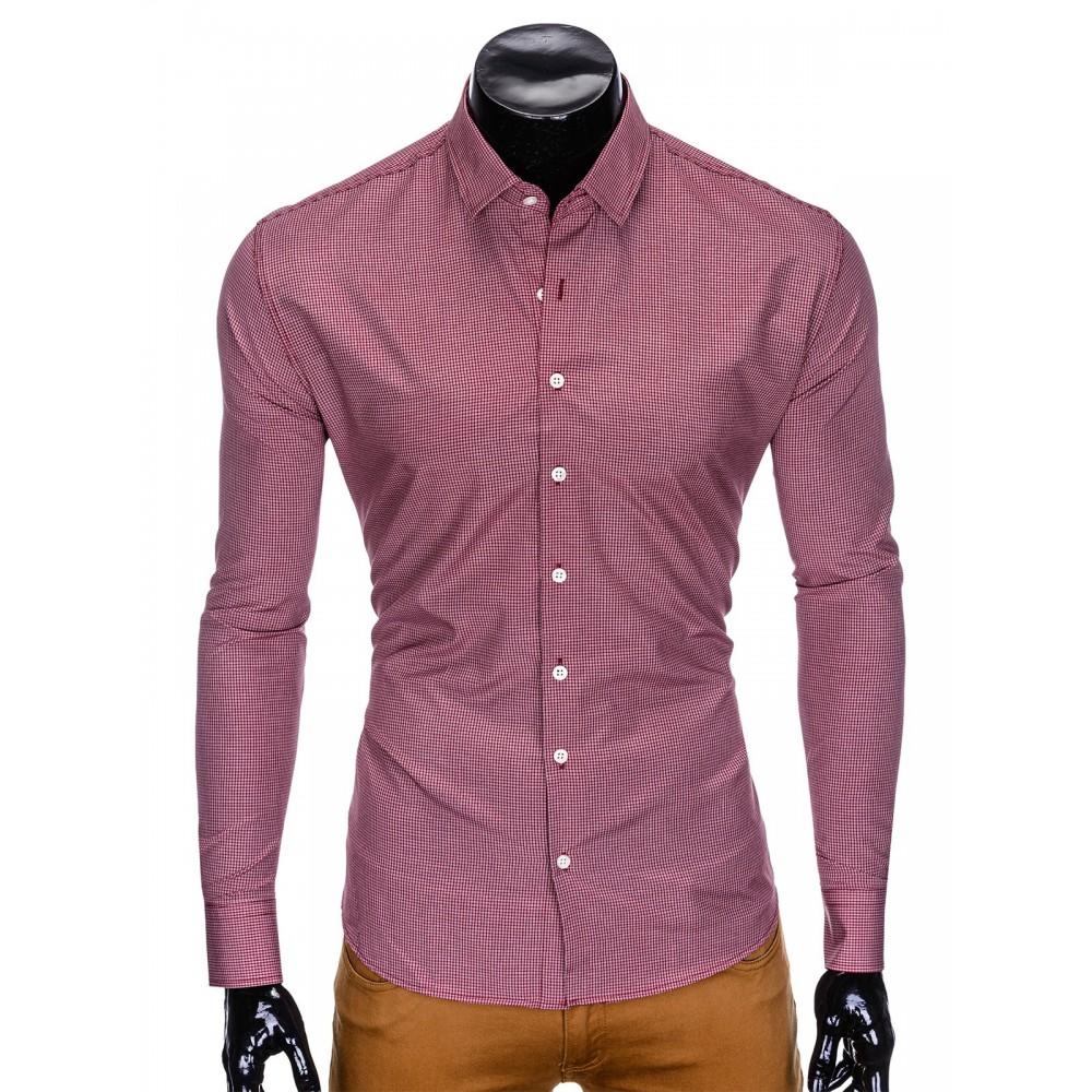 """Vyriški ilgomis rankovėmis raudoni marškiniai """"Sepi"""""""