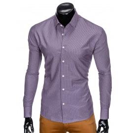 """Vyriški ilgomis rankovėmis violetiniai marškiniai """"Sepi"""""""